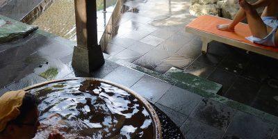 和歌山有田川温泉「鮎茶屋」の太刀魚とクエ鍋
