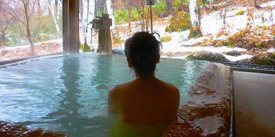 長野県白骨温泉 小梨の湯「笹屋」と「岩魚の笹巻き」