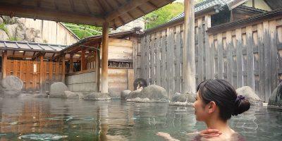 静岡県松崎町の桜田温泉「山芳園」と「椎茸の山椒煮」