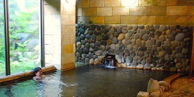 群馬県上野村 塩ノ沢温泉「国民宿舎やまびこ荘」と、峠のうどん「藤屋」