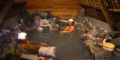 別府明礬温泉「湯の里」と大分県臼杵市「通年ふぐ料理」
